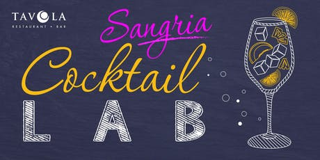 Sangria Cocktail Lab tickets