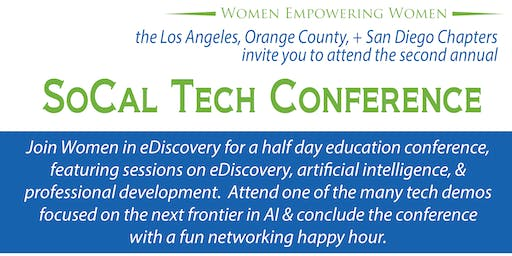Women in eDiscovery SoCal Tech Conference