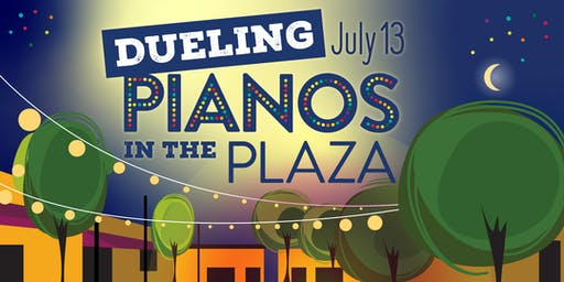 Dueling Pianos in the Plaza