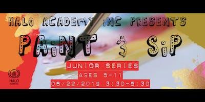 Paint & Sip Junior Series