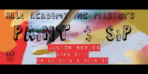 Paint & Sip Junior Series