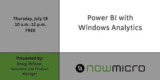 PowerBI with Windows Analytics