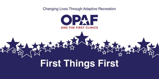First Things First with Prosthetic Center of Excellence -Clinic Participant Registration