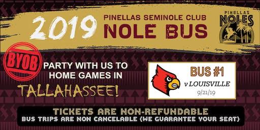 Pinellas Seminole Club Nole Bus One (vs. Louisville)