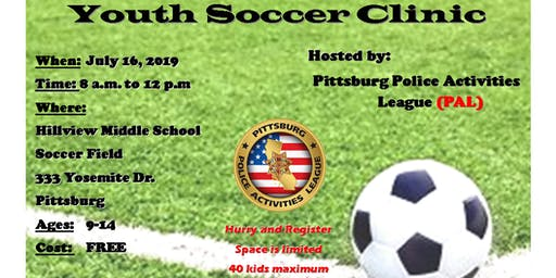 PAL - SOCCER CLINIC