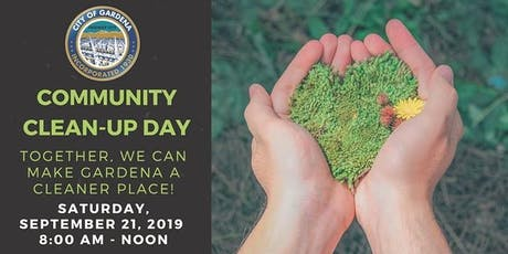 Community Clean-Up Day tickets