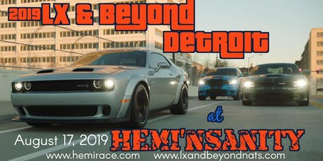 2019 LX & Beyond: Detroit at HEMI'nsanity tickets