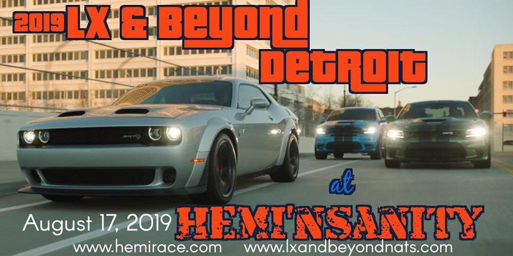 2019 LX & Beyond: Detroit at HEMI'nsanity Tickets, Sat, Aug 17, 2019