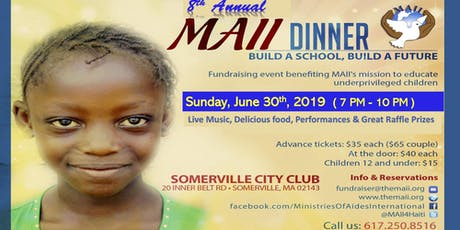 Build A School - Build A Future Dinner tickets