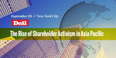 The Rise of Shareholder Activism in Asia Pacific tickets