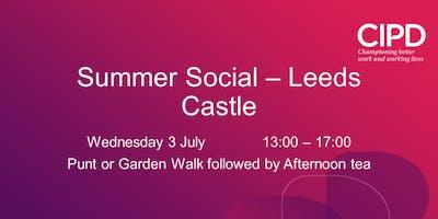 Kent Summer Social - Leeds Castle