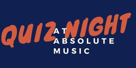 Charity Quiz Night at Absolute Music tickets