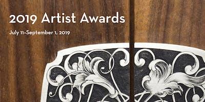 2019 Artist Awards Reception