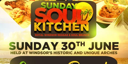 SUNDAY SOUL KITCHEN JUNE - REGGAE BRUNCH