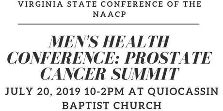 NAACP MEN'S HEALTH CONFERENCE: PROSTATE CANCER SUMMIT tickets