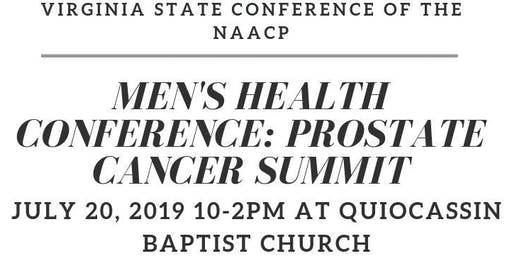 NAACP MEN'S HEALTH CONFERENCE: PROSTATE CANCER SUMMIT