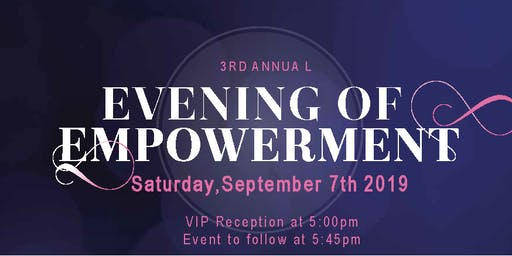 3rd Annual Evening of Empowerment