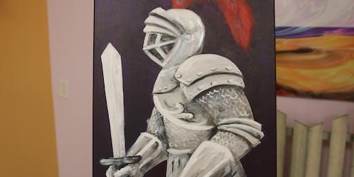 Advanced Acrylic Painting     -      BYOB