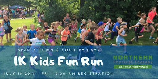 Sparta Town and Country Days 1K FUN RUN by Northern Physical Therapy