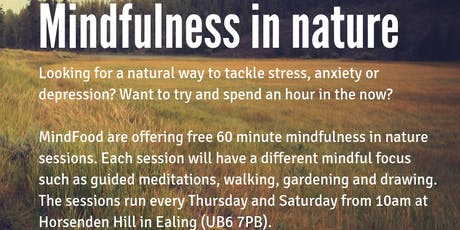 Mindfulness in Nature (near Perivale tube) tickets