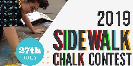 Sidewalk Chalk Contest tickets