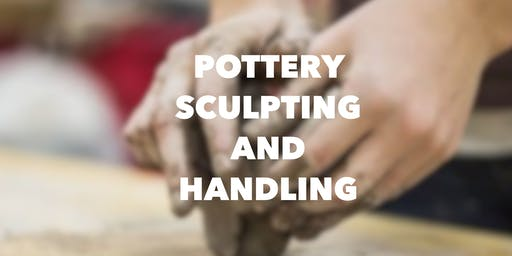 Pottery Sculpting and Handbuilding Thursdays