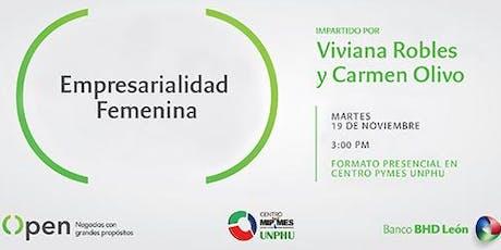 Empresarialidad Femenina tickets