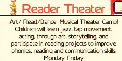 """Summer Edutainment Camp """"Reader Theater Performance Revue"""" ages 6-7 and 8-9"""