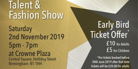 Seraphic Talent & Fashion Show tickets