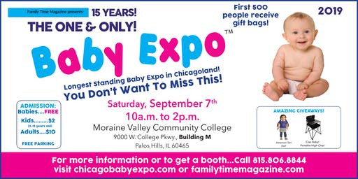 2019 Baby Expo! Sept. 7th, 2019 - 10am-2pm
