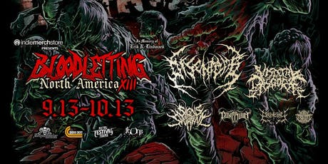 DISENTOMB, VISCERAL DISGORGE - BLOODLETTING NORTH AMERICA in PORTLAND tickets