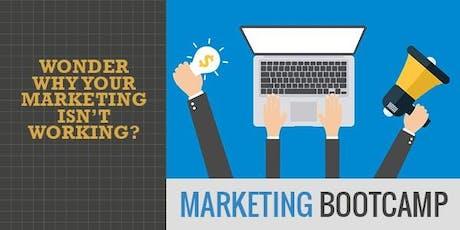 Marketing Bootcamp:  tickets