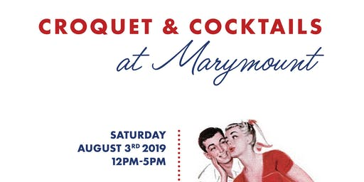 Croquet & Cocktails at Marymount