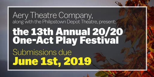 13th Annual Aery Theatre 20/20 One-Act Play Competition