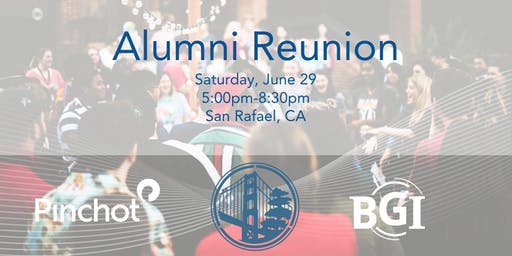 Alumni Reunion -  business cards optional, party hats required