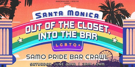 Santa Monica Pride Bar Crawl tickets
