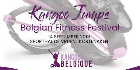 Kangoo Jumps Belgian Fitness Festival billets