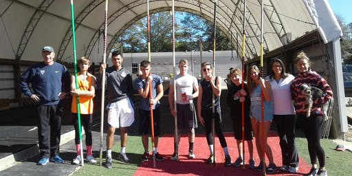 Overnight Pole Vault Camp July 9-11, 2019 - All levels