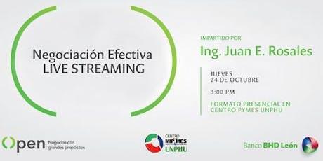 Negociación Efectiva - Live Streaming entradas
