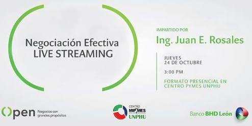 Negociación Efectiva - Live Streaming