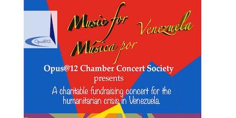 Music For Venezuela - Benefit Concert tickets
