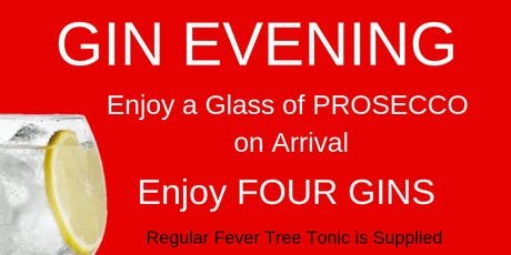 Gin Evening tickets