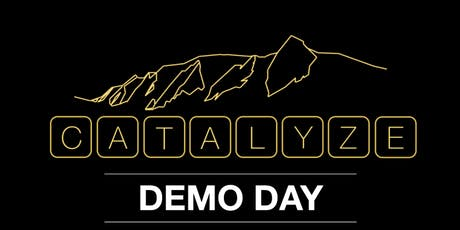Catalyze CU 2019 Demo Day tickets