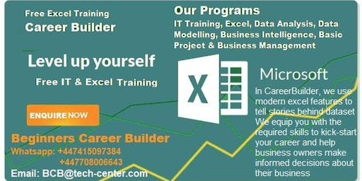Register for Free IT and Excel Training