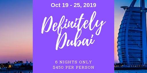 Definitely Dubai 2019