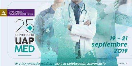 Medicina UAP - 25º aniversario entradas