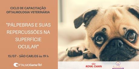Ciclo de Capacitação Oftalmologia Veterinária - São Carlos ingressos