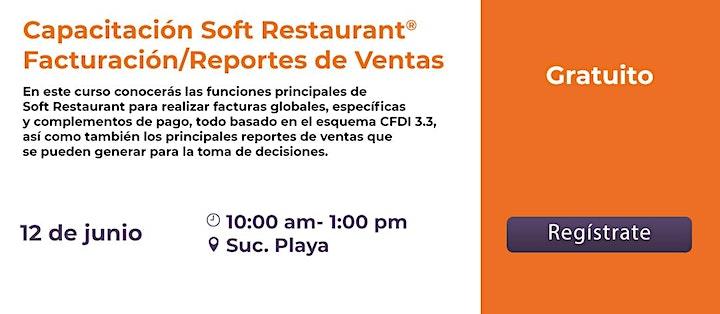 Imagen de Playa del Carmen:  Facturación y Reportes de Ventas Soft Restaurant