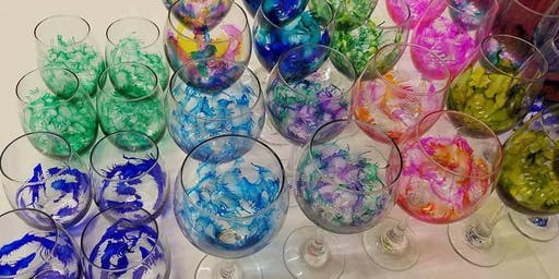 Sip & Paint: Wine Glasses