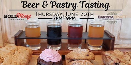 Beer and Pastry Tasting tickets